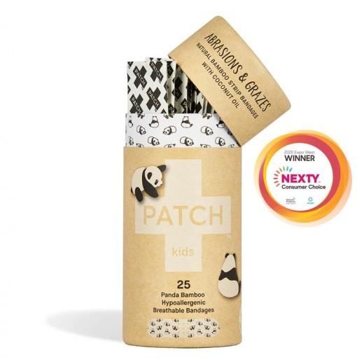 PATCH - Kompostovateľné Bambusové Náplasti pre Deti 25 ks