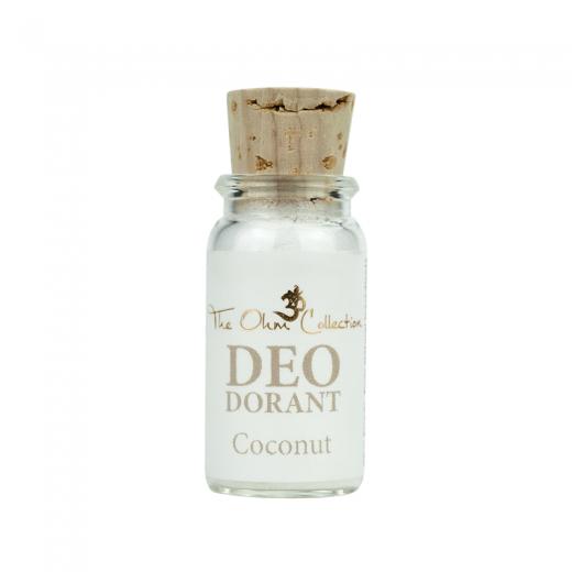 THE OHM COLLECTION - Púdrový Dezodorant SWEET COCONUT - Vzorka