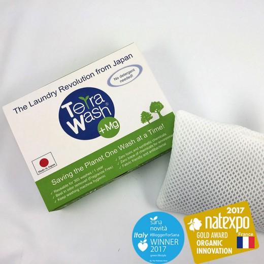 Terra Wash + Mg - 100 % Ekologický Prací Prostriedok s Horčíkom - 1 vrecúško - 365 praní