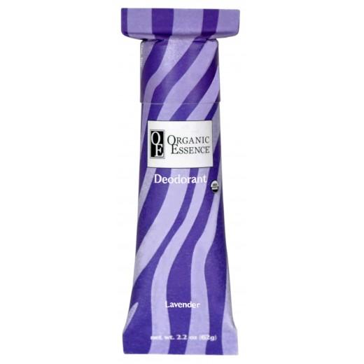 ORGANIC ESSENCE LAVENDER DEODORANT - BIO Dezodorant s ukľudňujúcou vôňou PRAVEJ LEVANDULE Obsah: 62g