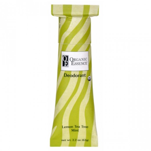ORGANIC ESSENCE LEMON TEA TREE MINT DEODORANT - BIO dezodorant so sviežou vôňou LEMON TEA TREE a MÄTY Obsah: 62g