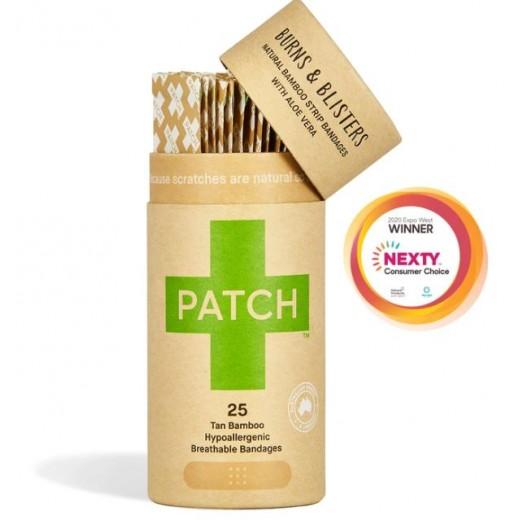 PATCH - Kompostovateľné Bambusové Náplasti s Aloe Vera 25 ks