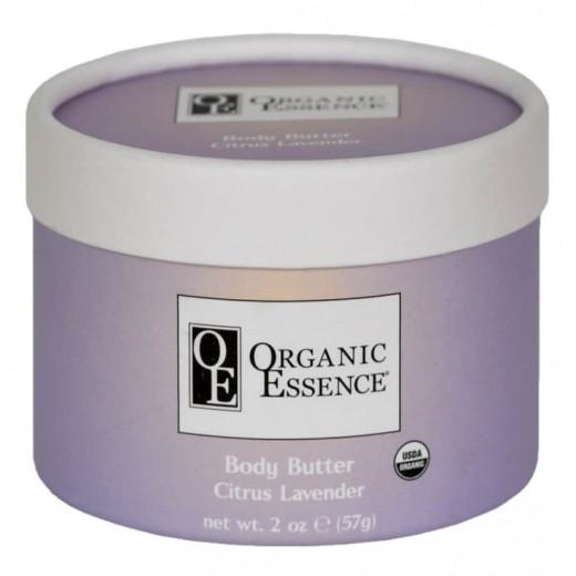 ORGANIC ESSENCE FLOWER BUTTER CITRUS LAVENDER - Mangové maslo s exotickými olejmi a vôňou citrusov a levandule - Vzorka 10g