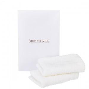 JANE SCRIVNER MITT PACK - 100 % bavlnené extra nadýchané rukavice bez prstov 2 ks