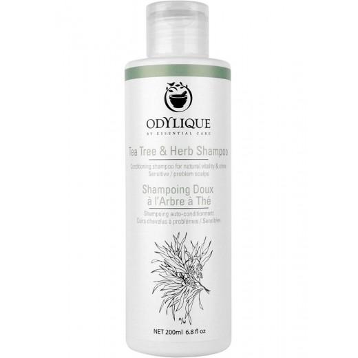ODYLIQUE - Šampón na problematickú pokožku so Žihľavou, Prasličkou a TEA TREE olejom 200ml