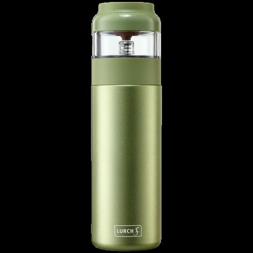 LURCH - Termofľaša so sitkom na čaj 400 ml Zelená - Green Tea