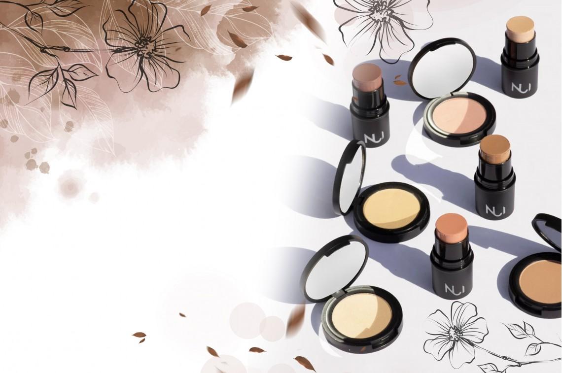 100% prírodný makeup